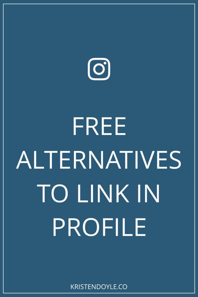 Free alternatives to link in profile