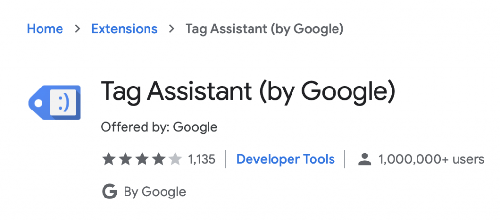 Google Tag Assistant helps verify your Google Analytics is tracking.